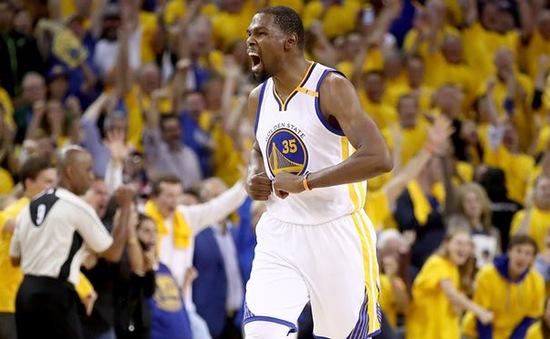 Kevin Durant đi vào lịch sử, Golden State Warriors vô địch giải bóng rổ NBA 2017