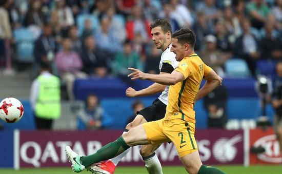Cúp Liên đoàn các châu lục 2017, ĐT Australia 2-3 ĐT Đức : Rượt đuổi tỷ số hấp dẫn