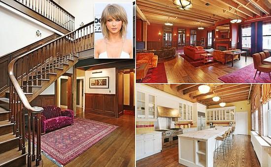 Taylor Swift hoảng hốt vì nửa đêm bị fan leo mái nhà tìm gặp