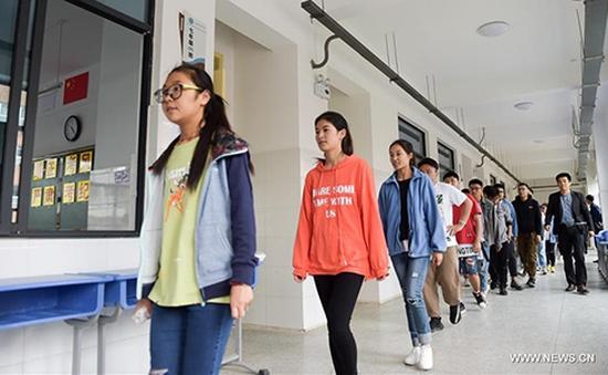 Hơn 9 triệu học sinh Trung Quốc bắt đầu thi đại học