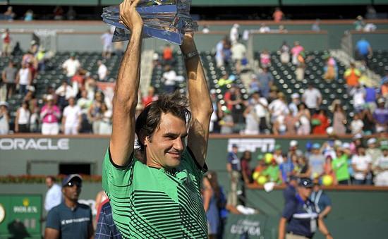 Thắng nhanh Wawrinka, Federer lần thứ 5 đăng quang tại Indian Wells