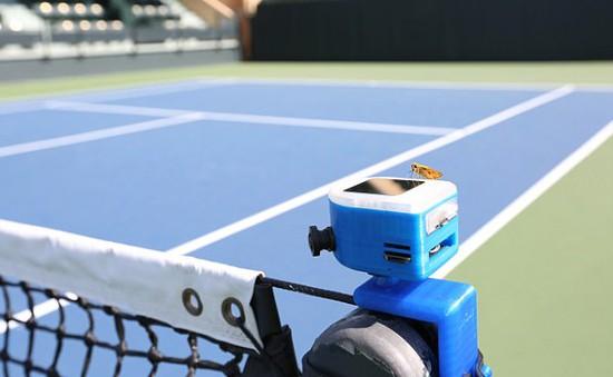 """Không cần """"mắt diều hâu"""", robot dùng trí tuệ nhân tạo sẽ """"soi"""" đường bóng trong tennis"""