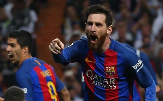 Messi giành danh hiệu Chiếc giày vàng châu Âu 2017