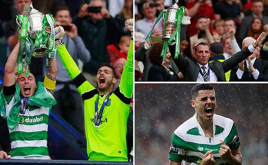 Celtic giành Cúp Quốc gia Scotland 2016/2017