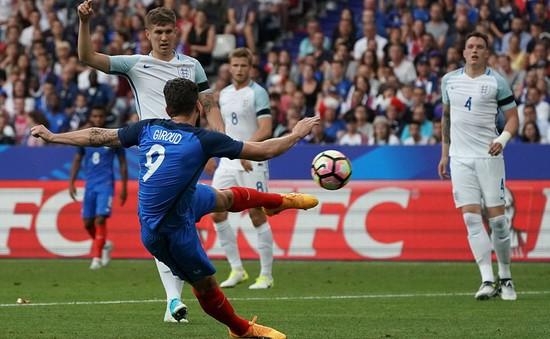 ĐT Pháp 3-2 ĐT Anh: Ngược dòng ngoạn mục dù thiếu người