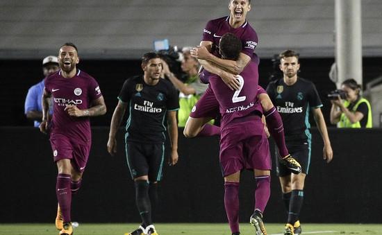 Real Madrid 1-4 Man City: Cơn mưa bàn thắng!