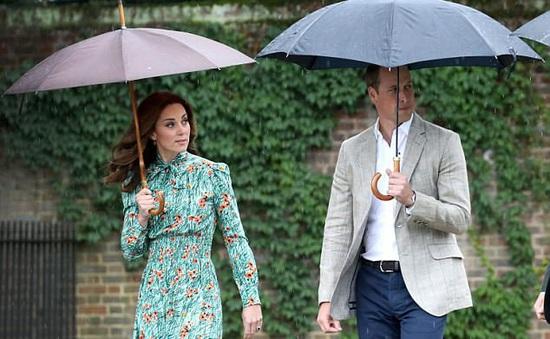 Vợ hoàng tử William mang thai lần 3