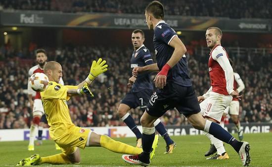 Kết quả bóng đá UEFA Europa League rạng sáng 03/11: Arsenal, AC Milan chia điểm, Everton tiếp tục thất bại