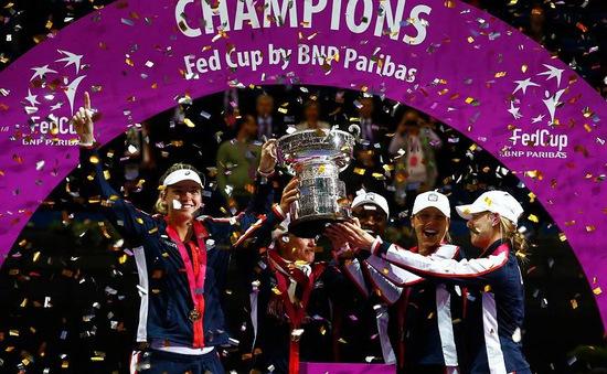 ĐT Mỹ giành chức vô địch Fed Cup lần thứ 18