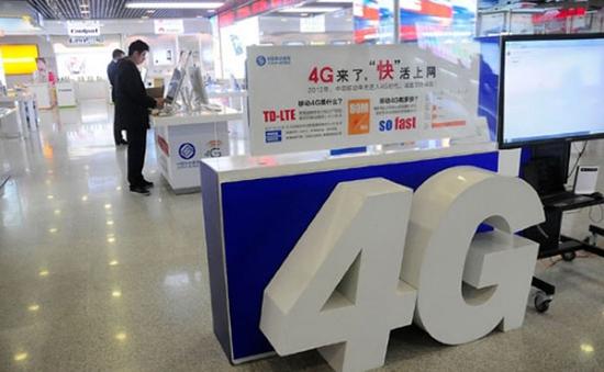 Gần 1 tỷ người Trung Quốc dùng mạng 4G