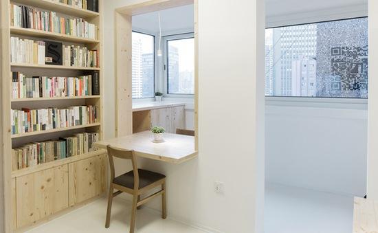 Ấn tượng với hiệu sách nhỏ xinh lọt thỏm trong khu chung cư
