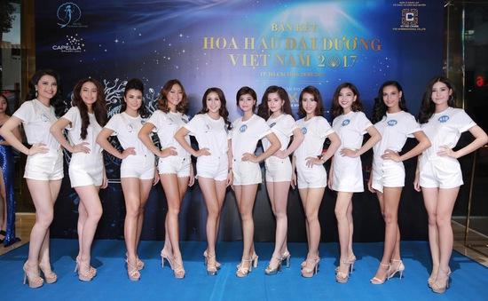 Lộ diện 34 gương mặt vào Chung kết Hoa hậu Đại dương Việt Nam 2017