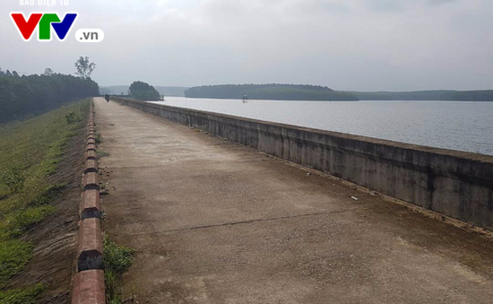 Quảng Trị:  Đập thủy lợi Triệu Thượng 2 sạt lở nghiêm trọng