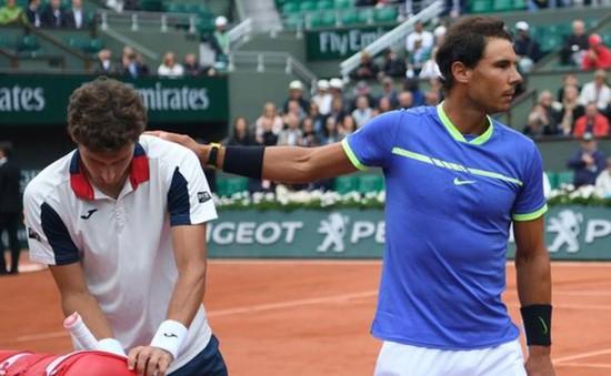 Nadal nhàn nhã vào vòng bán kết thứ 10 tại Pháp mở rộng