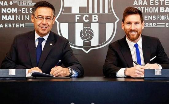 Lộ lý do ngoài mức đãi ngộ khiến Messi chịu ở lại Barca tới năm 2021