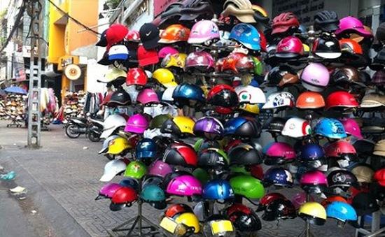 Từ 1/7, sản xuất và bán mũ bảo hiểm chưa đạt chuẩn sẽ bị phạt