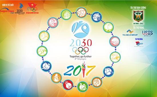 Lễ công bố Đại hội thể thao doanh nhân Olympic 2030 lần 3 năm 2017