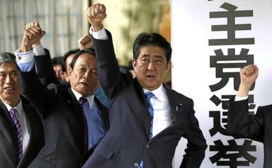 Bầu cử Nhật Bản: Đảng Dân chủ tự do thắng áp đảo