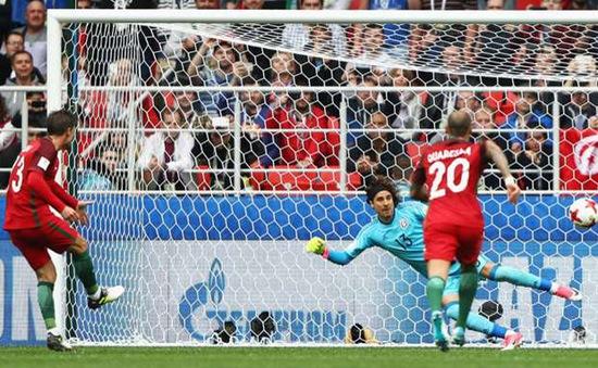 Tranh hạng 3 Cúp Liên đoàn các châu lục 2017: ĐT Bồ Đào Nha 2-1 ĐT Mexico