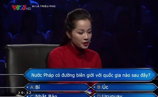 Xem lại phần thi Ai là triệu phú của Minh Hương