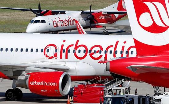 Hãng hàng không lớn thứ 2 nước Đức đệ đơn xin phá sản