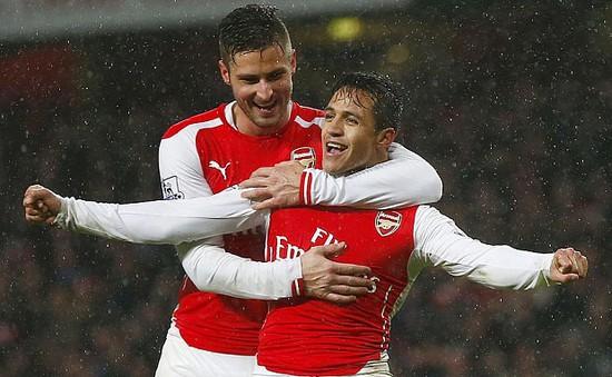Alexis Sanchez vắng mắt trong đội hình du đấu của Arsenal