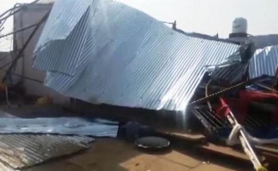 Sập tường ở Ấn Độ, ít nhất 22 người thiệt mạng