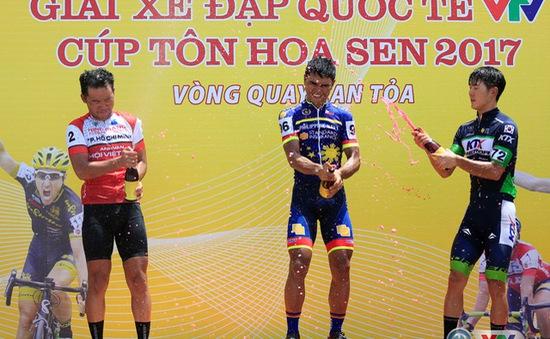 Kết quả chi tiết giải xe đạp quốc tế VTV Cúp Tôn Hoa Sen 2017: Oranza về nhất chặng 3, Lê Văn Duẩn giành áo vàng!