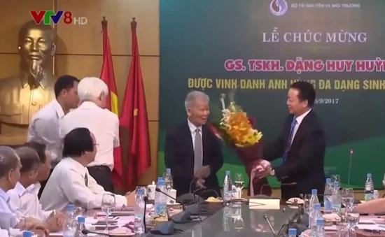 """Người Việt Nam đầu tiên được vinh danh """"Anh hùng đa dạng sinh học Asean"""""""