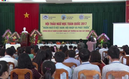 Khai mạc Hội thảo Ngữ học toàn quốc 2017