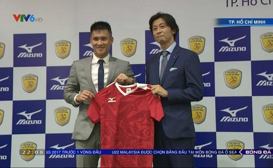CLB TP.Hồ Chí Minh công bố áo đấu mới giai đoạn lượt về