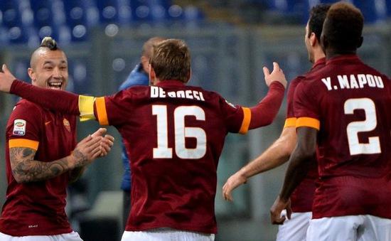 Coppa Italia: Đánh bại Cesena, AS Roma vào bán kết