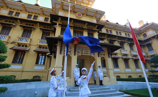 Lễ thượng cờ 50 năm ASEAN