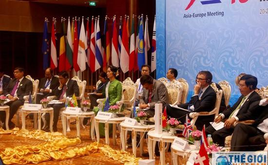 Các Bộ trưởng Ngoại giao Á - Âu nhất trí tăng cường quan hệ đối tác vì hòa bình và phát triển bền vững