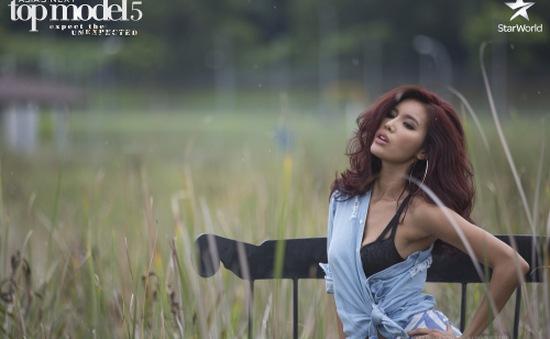 """""""Lột xác"""" với tóc mới, Minh Tú có bước tiến ngoạn mục ở Asia's Next Top Model"""
