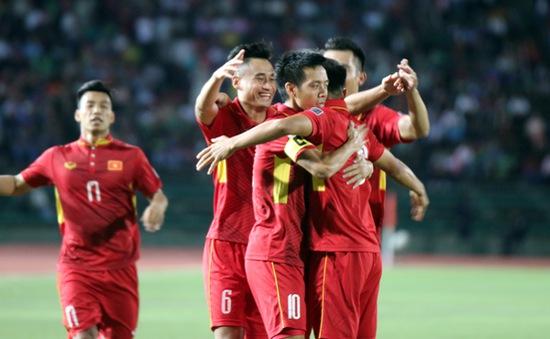 ĐT Việt Nam vượt qua Thái Lan trên Bảng xếp hạng FIFA tháng 9