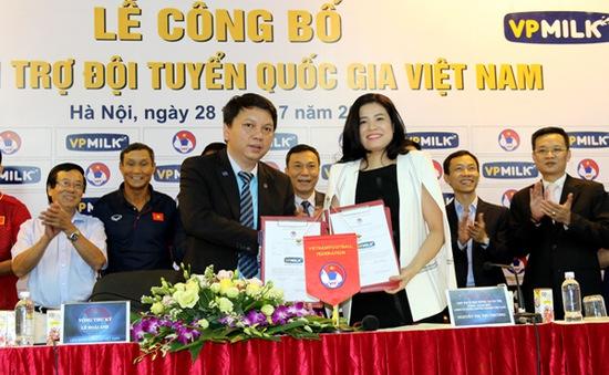 Ra mắt nhà tài trợ mới của bóng đá Việt Nam
