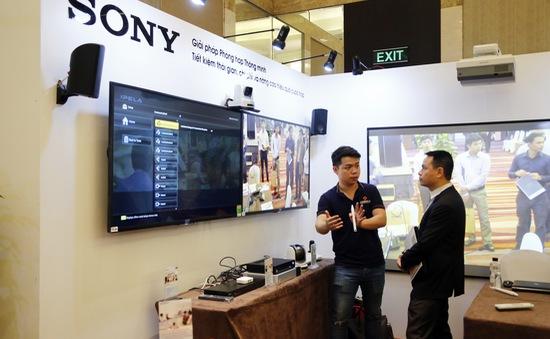 Sony ra mắt giải pháp truyền thông và phòng họp thông minh cho doanh nghiệp