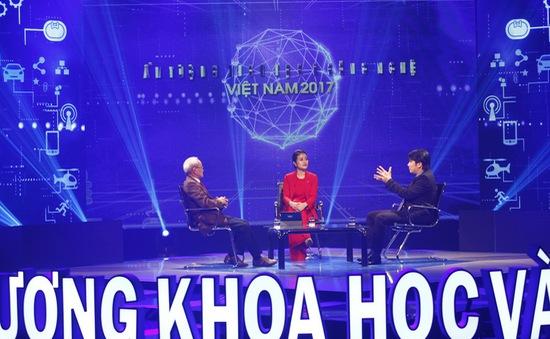 Hé lộ hình ảnh không có trên sóng của Ấn tượng Khoa học-Công nghệ Việt Nam 2017