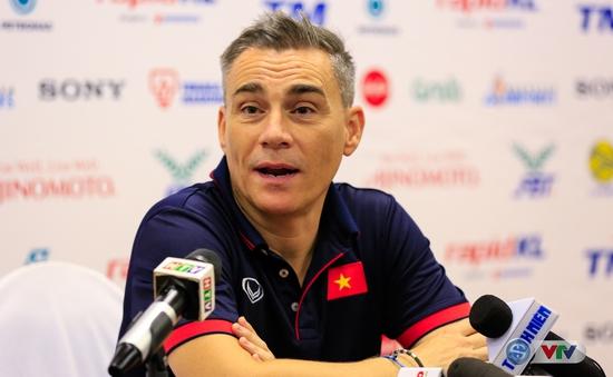 HLV ĐT futsal Việt Nam Miguel Rodrigo thất vọng về thất bại trước Thái Lan