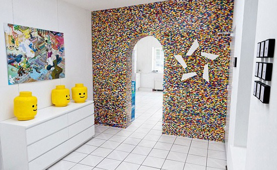 Ngộ nghĩnh căn hộ có nội thất bằng lego
