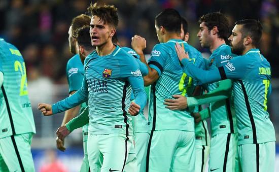 Vòng 19 giải VĐQG Tây Ban Nha: Barcelona giành thắng lợi thuyết phục