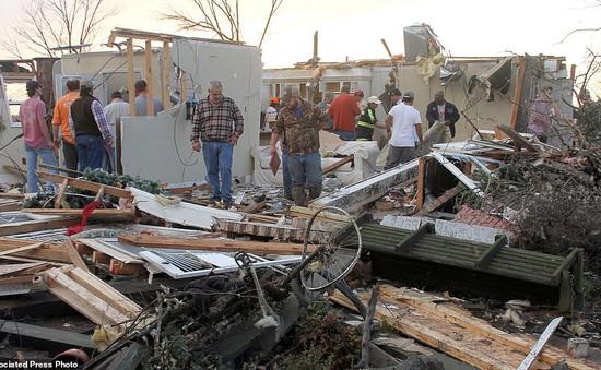 Mỹ: Lốc xoáy tàn phá bang Mississippi, 4 người thiệt mạng