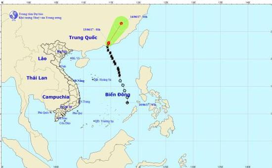 Bão số 1 đổ bộ tỉnh Quảng Đông, Trung Quốc
