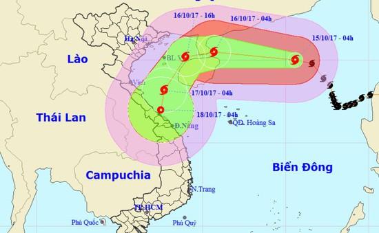 Bão số 11 liên tục đổi hướng, suy yếu dần thành áp thấp nhiệt đới
