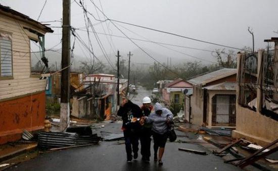 Puerto Rico ban bố lệnh giới nghiêm sau khi bão Maria quét qua