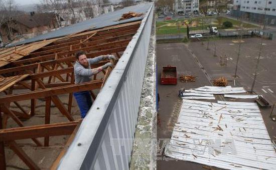 Bão Zeus hoành hành tại Pháp, ít nhất 2 người thiệt mạng