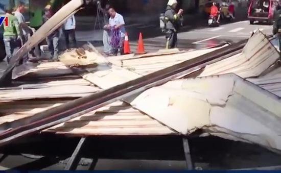 Bão Nesat đổ bộ Đài Loan, Trung Quốc: Hơn 80 người bị thương