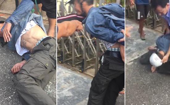 Công an bác tin đồn người đàn ông bị đánh gục vì bắt cóc trẻ
