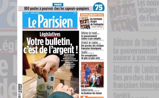 Bầu cử Quốc hội Pháp: Thắng trong chính trị cũng là thắng về tài chính